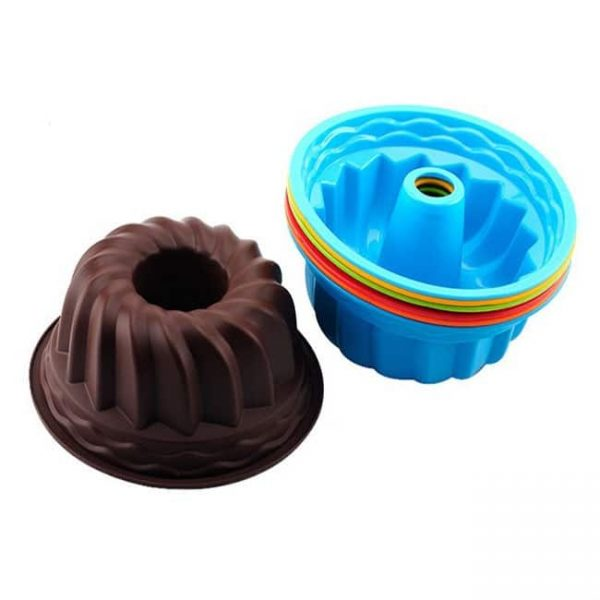 stackable silicone cake pan