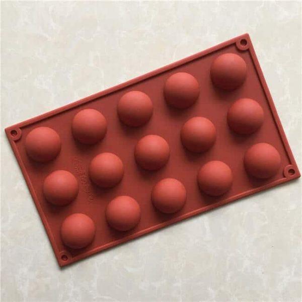 15 holes Dia 3.7cm cake pudding mold