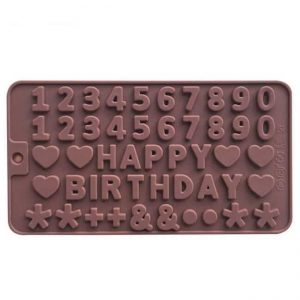 Birthday Letter Molds