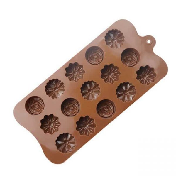 15 cavity Handmake Sugarcraft silicone mold