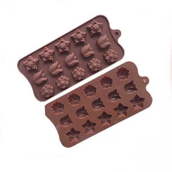 15 cavity soap silicone mold