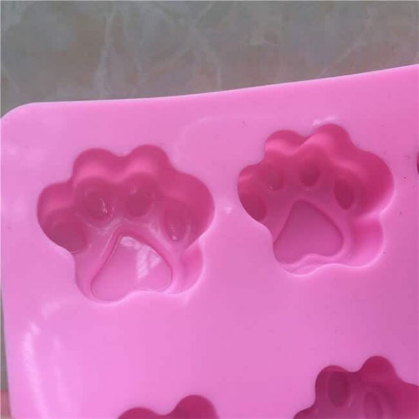 10-cavity bear paw kitchen silicone mold