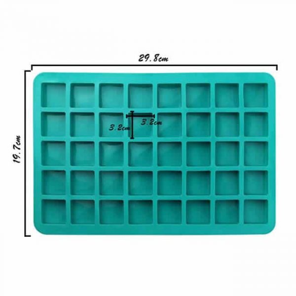40-Cavity DIY Chocolate Chip Silicone Mold