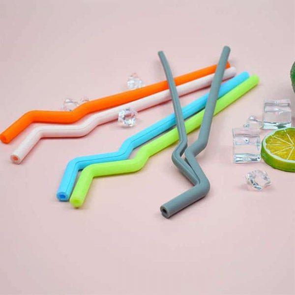 Fashion silicone straw