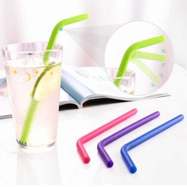 bent silicone straws for sale