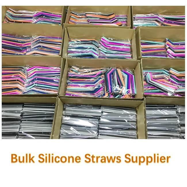 bulk silicone straws supplier
