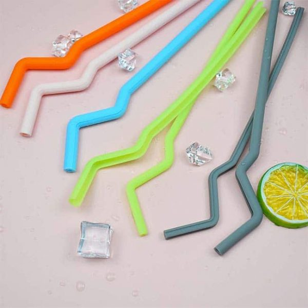 silicone straw detail