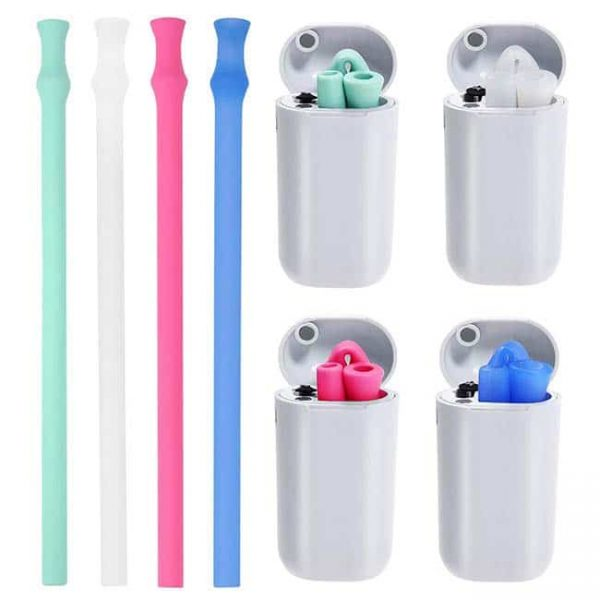 silicone straw with case 1