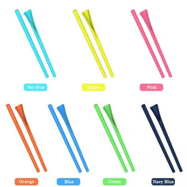 silicone straws colors