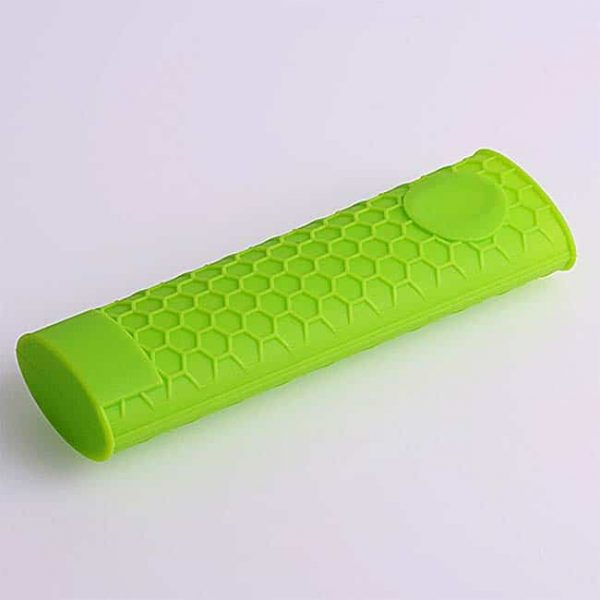 green silicone hot handle