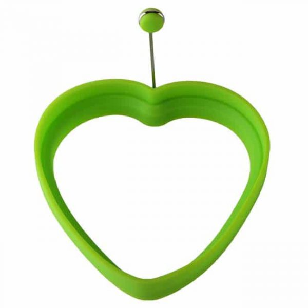 Heart shaped-green