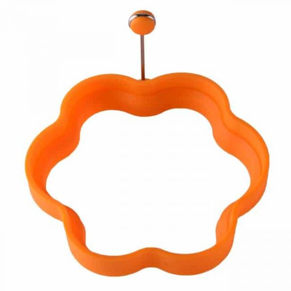 Flower shape-orange