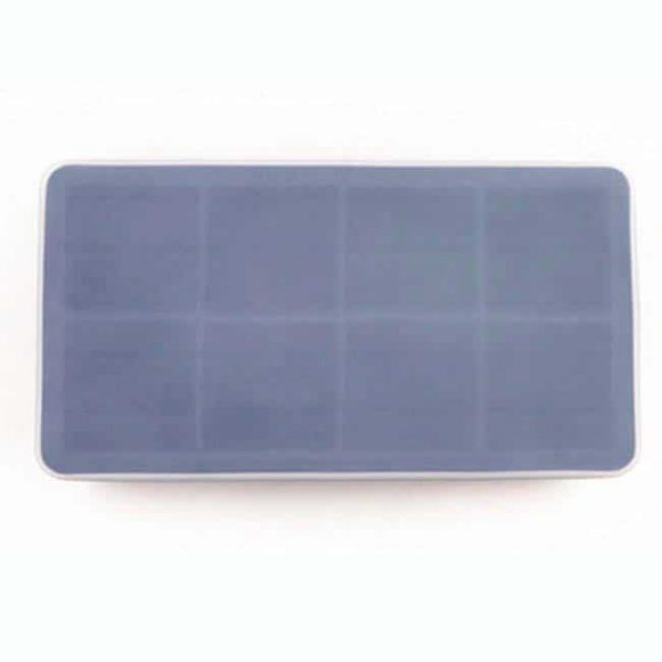 8 grid silicone ice tray