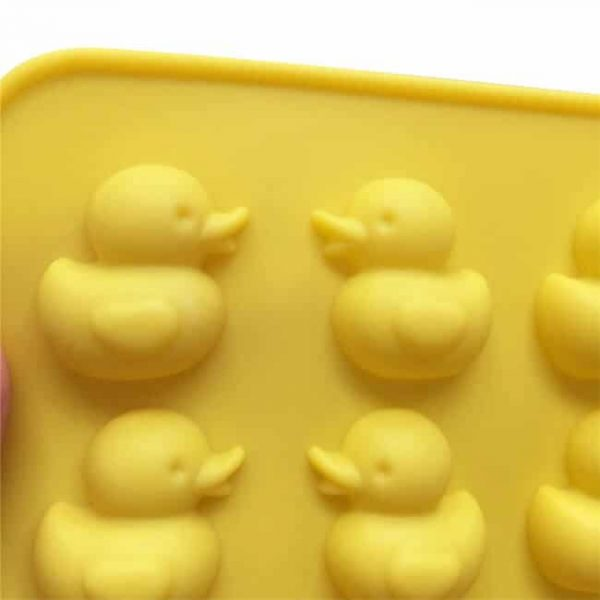 Baking tools 3D Duck Jelly Chocolate Silicone Molds