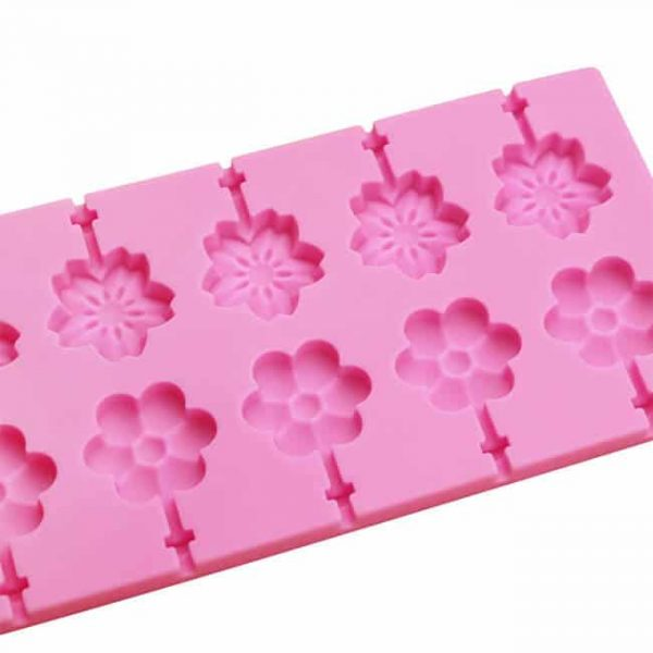 12 cavity hard candy silicone molds tray