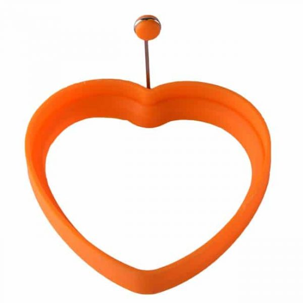 Heart shaped-orange