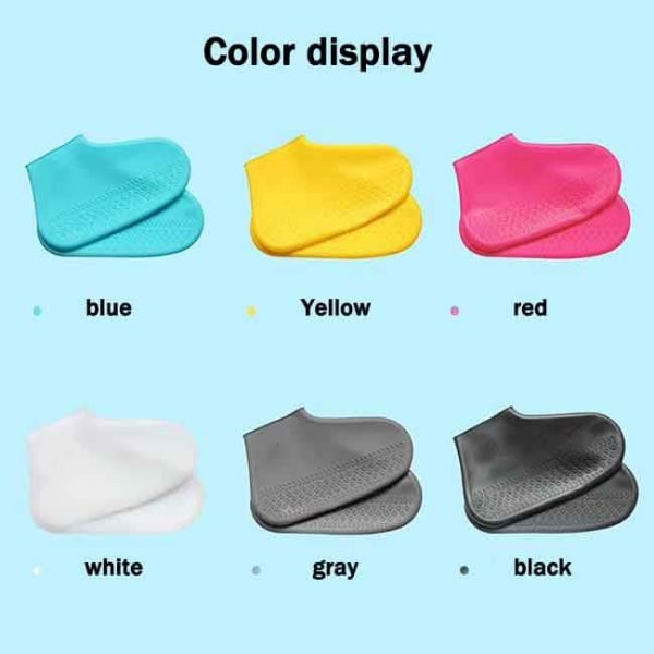 Silicone shoe covers