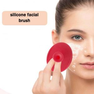 silicone face brush