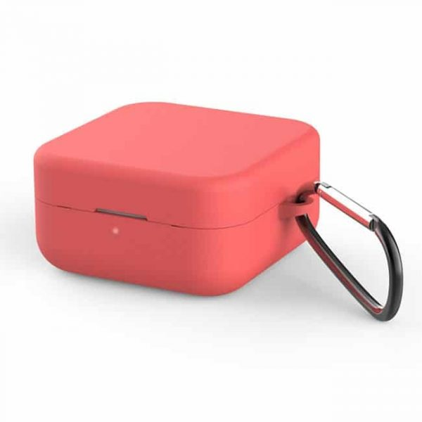 With buckle silicone wireless earphone case