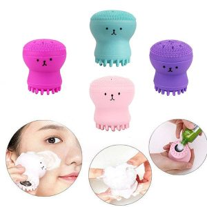 Jellyfish Silicon Brush