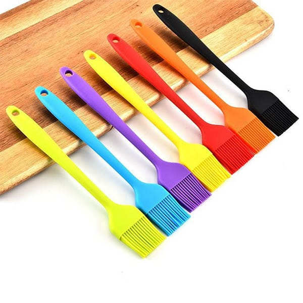 3 color Large silicone oil brush
