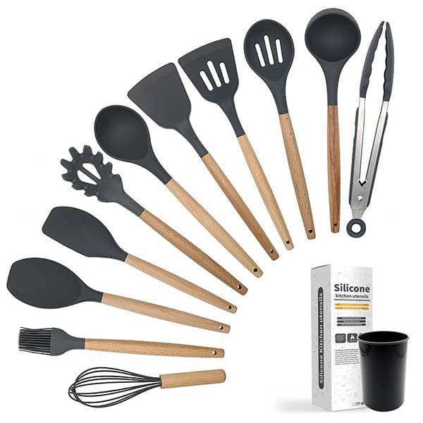 Silicone kitchenware gray