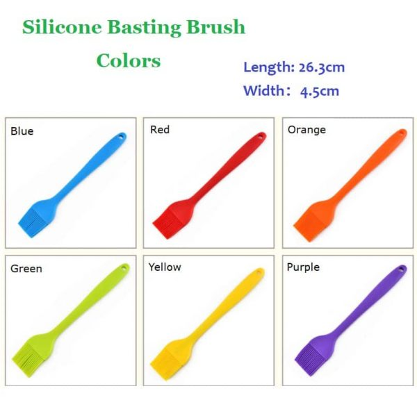 Large silicone oil brush colors