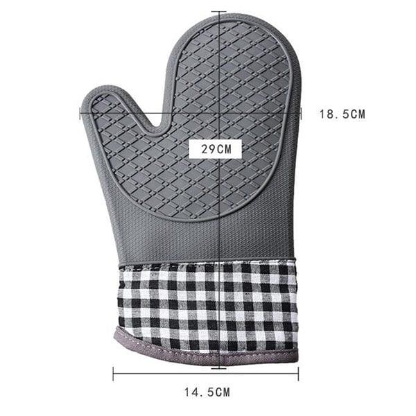 Kitchen bakery silicone gloves (6)