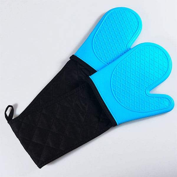 Reusable silicone cooking gloves, (1)