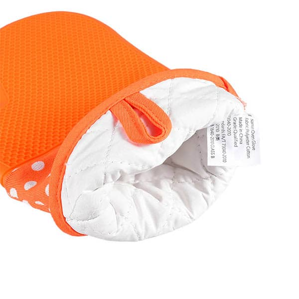 Cotton silicone gloves
