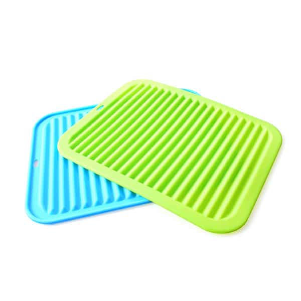 Silicone sink mat