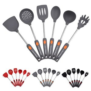 6-piece non-stick anti-scalding silicone kitchenware