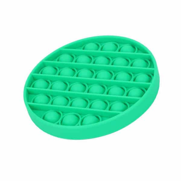 Green round bubble toy