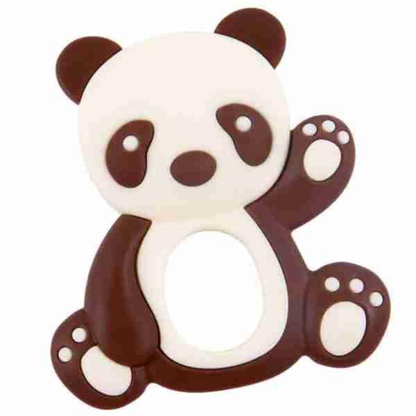 Brown Panda Teether
