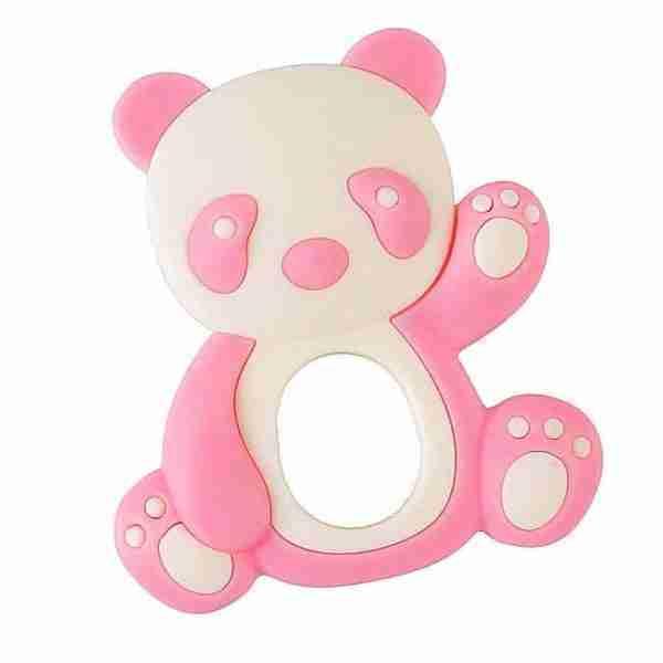 Pink Panda Teether