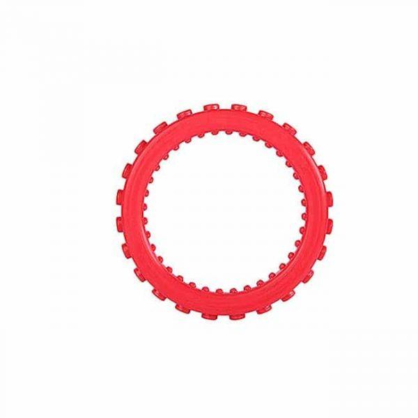 Red bracelet round teether