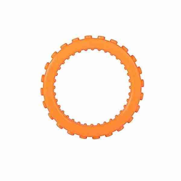 Orange bracelet round teether