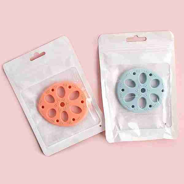 Cute Soft Silicone Baby Teether