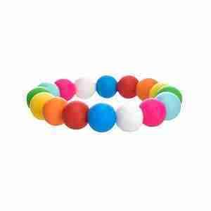 Silicone Bead Bracelet Teether