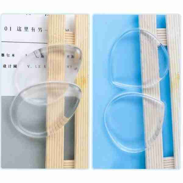 Transparent silicone puff, Silicone Makeup Sponge