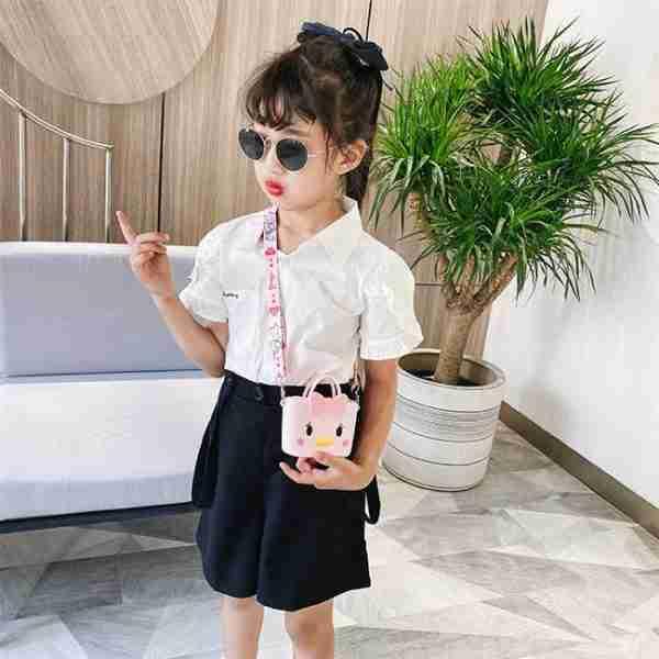 Girl Silicone Bag