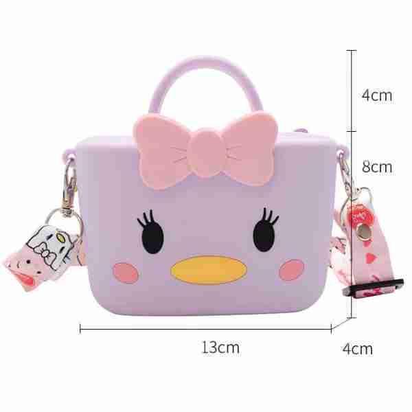 Girl silicone bag size