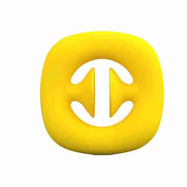Yellow silicone suction cup pressure relief gripper