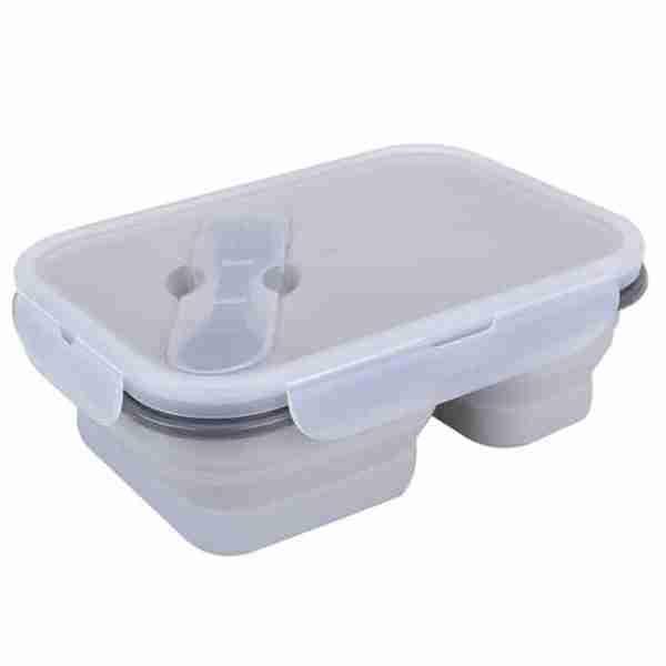 grey silicone bowl